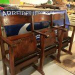stolrekke renovert