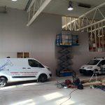 montering av veggplater