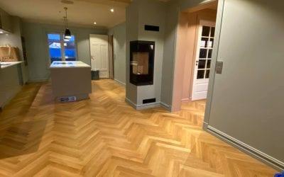 Totalrenovering av bolig